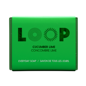 savon loop concombre lime